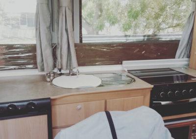 Caravan Interior Detail
